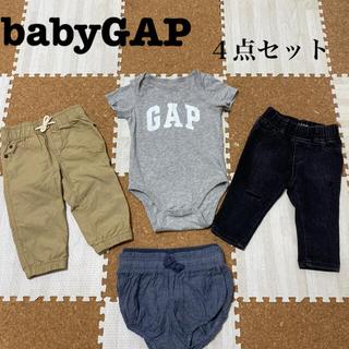 ベビーギャップ(babyGAP)のbabyGAP 4点セット(ロンパース)