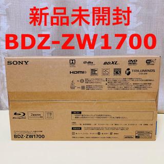 SONY - 【未開封】SONY ブルーレイレコーダー BDZ-ZW1700