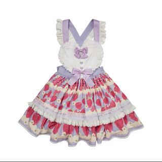 アンジェリックプリティー(Angelic Pretty)のBacio Bouquet イチゴ柄 スカート(ミニスカート)