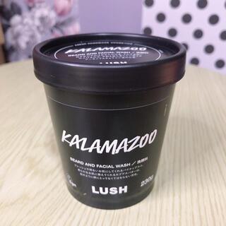 ラッシュ(LUSH)のLUSH カラマズー クリーム洗顔料(洗顔料)