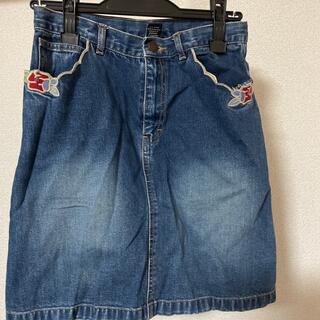 GAP 刺繍デニムスカート