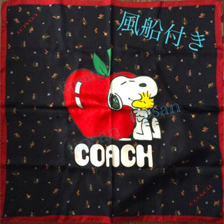 コーチ(COACH)のCOACH×PEANUTS スカーフ コーチ スヌーピー スカーフ COACH (バンダナ/スカーフ)