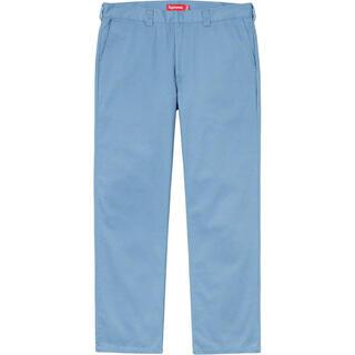 Supreme - 30 Supreme Work Pant Light Blue 20ss