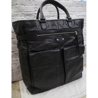 美品◆BALENCIAGAバレンシアガ クラシックキューブ 大容量 トートバッグ