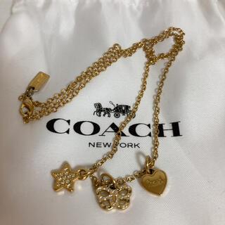 コーチ(COACH)のコーチ ネックレス ハート 星 蝶々 袋付き(ネックレス)