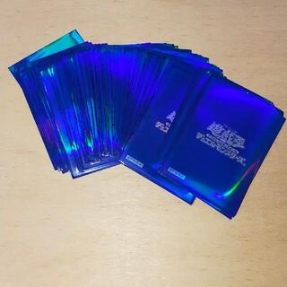 コナミ(KONAMI)の希少 遊戯王 オベリスクブルー スリーブ 51枚 正規品 初期ロゴ(カードサプライ/アクセサリ)