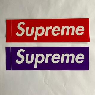 シュプリーム(Supreme)のSupreme シュプリーム ロゴ ステッカー ラベル 2枚(ノベルティグッズ)