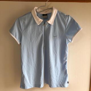 ナイキ(NIKE)のNIKE ドライフィット半袖ポロシャツ 襟付きユニフォーム バドミントン シャツ(ポロシャツ)