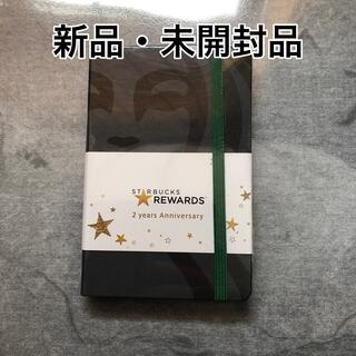 スターバックスコーヒー(Starbucks Coffee)のSTARBUCKS 2yearsAnniversary 【新品・未使用・未開封】(ノート/メモ帳/ふせん)