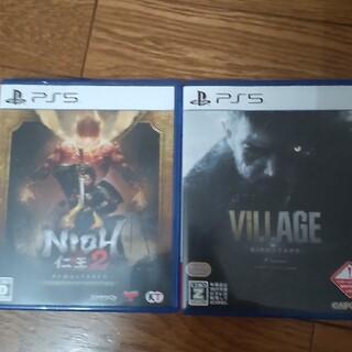 PlayStation - ps5 仁王2&バイオハザードビレッジz指定2本セット