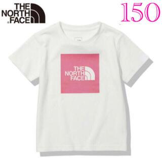 THE NORTH FACE - ノースフェイス Tシャツ キッズ スクエアロゴ 150