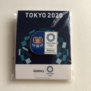 ギャラクシー(Galaxy)のTOKYO 2020  ピンバッジ  福だるま(バッジ/ピンバッジ)