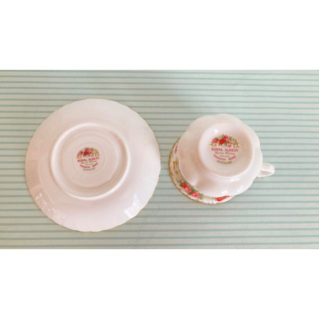 ROYAL ALBERT(ロイヤルアルバート)のロイヤルアルバート カップ&ソーサー インテリア/住まい/日用品のキッチン/食器(食器)の商品写真