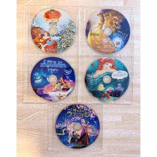 ディズニー(Disney)の【くみち様専用】ディズニー DVD 5枚セット Movie NEX(キッズ/ファミリー)