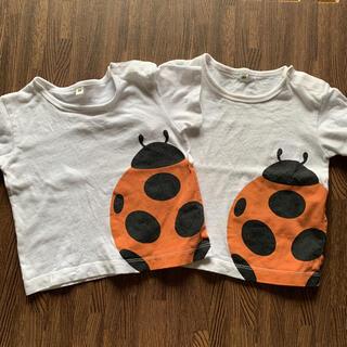 ムジルシリョウヒン(MUJI (無印良品))の無印良品☆Tシャツ 2枚セット(Tシャツ)