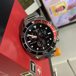 ティソ(TISSOT)のティソ TISSOT   T120.417.11.051.01   シースター(腕時計(アナログ))
