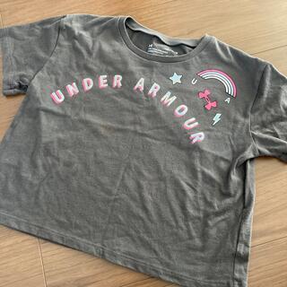 アンダーアーマー(UNDER ARMOUR)のムム様☆Tシャツ 半袖カットソー グレー 140(Tシャツ/カットソー)