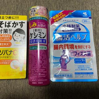 小林製薬 - 小林製薬 ケシミン、ソバナC、腸活ヘルプ