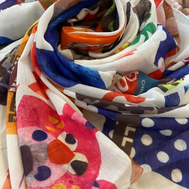 JAM(ジャム)のJAM じゃりぐま 大判スカーフ キッズ/ベビー/マタニティのこども用ファッション小物(マフラー/ストール)の商品写真