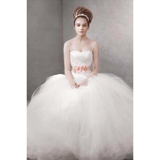 Vera Wang - white by verawang ウェディングドレス(バレリーナ)の通販 ...