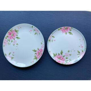 ローラアシュレイ(LAURA ASHLEY)のローラアシュレイ ミルナーブルー 皿 大小2枚(食器)