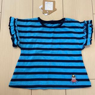 ジャム(JAM)のstories クマテン刺繍フリルT 80(Tシャツ)