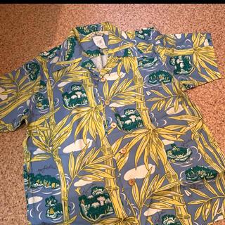 マカブー(makapu'u)のmakapuu  アロハシャツ ジーンズやハーフパンツと合わせて☺︎(シャツ)