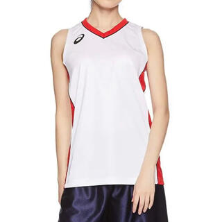 【新品】[アシックス] バスケットボールウエア ゲームシャツ レディース M(ウェア)