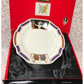 シセイドウ(SHISEIDO (資生堂))の資生堂花椿会 非売品 ケーキプレート 大皿(食器)