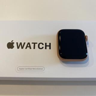 アップル(Apple)のApple Watch SE 40mm 開封したのみ 長期保証 ピンクゴールド(その他)