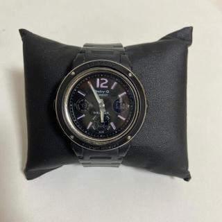 ベビージー(Baby-G)のbabyGshock ベビーGショック 腕時計 スポーツ 黒 ピンク(腕時計)