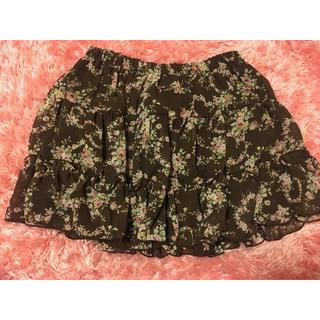 リズリサ(LIZ LISA)のLIZ LISA 花柄スカート(ミニスカート)