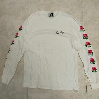 フリークスストア(FREAK'S STORE)のNO PANTIES ノーパンティーズ ローズ ロングスリーブ Tシャツ(Tシャツ(長袖/七分))