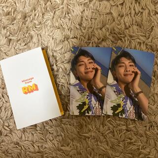 ボウダンショウネンダン(防弾少年団(BTS))のBTS butter トレカ メッセージカード RM ナムジュン(K-POP/アジア)