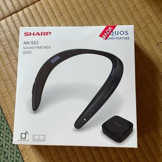 シャープ(SHARP)のSHARP AN-SS2 Bluetoothスピーカー(スピーカー)