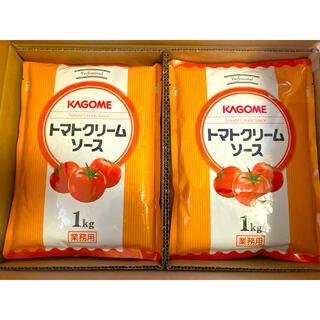 カゴメ(KAGOME)のカゴメ トマトクリームソース 2kg(レトルト食品)