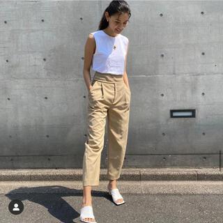 DEUXIEME CLASSE - 【新品】申真衣さん Toteme トーテム クロップドパンツ ベージュ XS