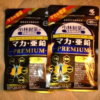小林製薬 - 小林製薬の栄養補助食品 マカ亜鉛プレミアム 約30日分 90粒×2
