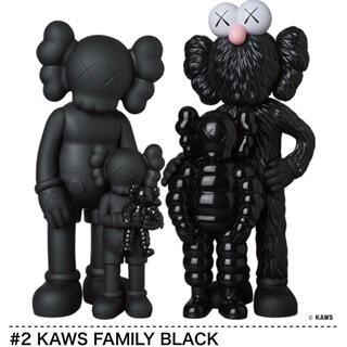 メディコムトイ(MEDICOM TOY)の#2 KAWS FAMILY BLACK  kaws tokyo first(その他)