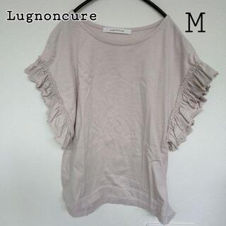 テチチ(Techichi)のM ギャザーフリル袖 カットソー ルノンキュール(Tシャツ(半袖/袖なし))