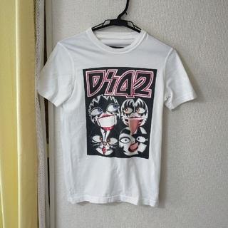 ディースクエアード(DSQUARED2)のディースクエアード半袖Tシャツ ホワイト(Tシャツ(半袖/袖なし))
