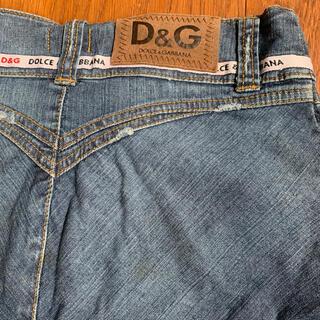 ドルチェアンドガッバーナ(DOLCE&GABBANA)のデニムスカート ドルガバ ミニスカート デニム(ミニスカート)