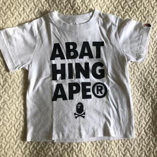 アベイシングエイプ(A BATHING APE)のAPE Tシャツ 100㎝(Tシャツ/カットソー)