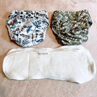 ca様専用⭐︎布おむつ econaps(エコナップス)カバーとインサート(布おむつ)