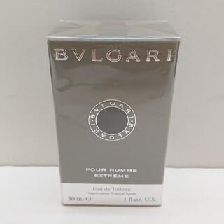 ブルガリ(BVLGARI)のブルガリ プールオムエクストリーム 30ml(香水(男性用))