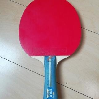 TSP - 卓球ラケット TSP BBX まだまだ使えるラバー付き 本日限定2480円に値下