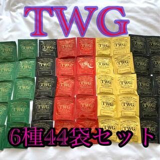 アフタヌーンティー(AfternoonTea)のTWGティパック6種44袋セット(茶)