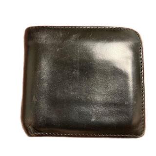 ホワイトハウスコックス(WHITEHOUSE COX)のWhite house cox 茶芯(折り財布)