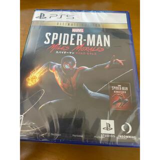 ソニー(SONY)のPS5 Marvel's スパイダーマン マイルズ・モラレス(家庭用ゲームソフト)