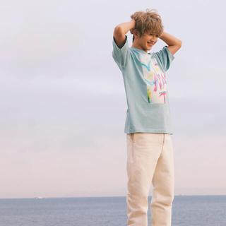 トリプルエー(AAA)のナップタイム スプレープリントTシャツ Nissy(Tシャツ(半袖/袖なし))